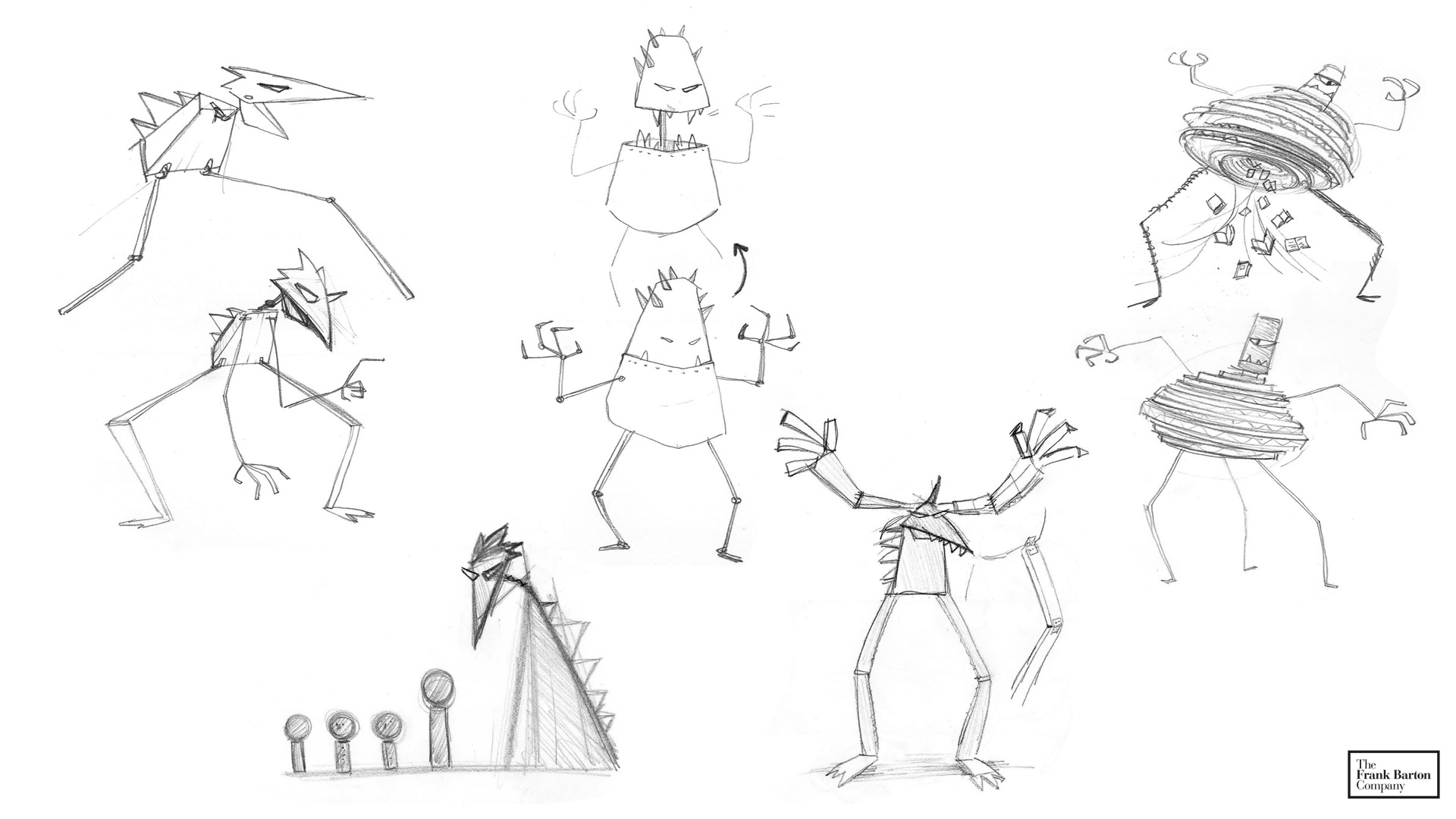 Evils In Our World Today Monster Early Concepts