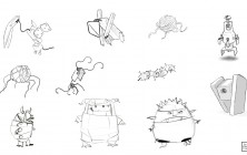 Monster early concepts 03